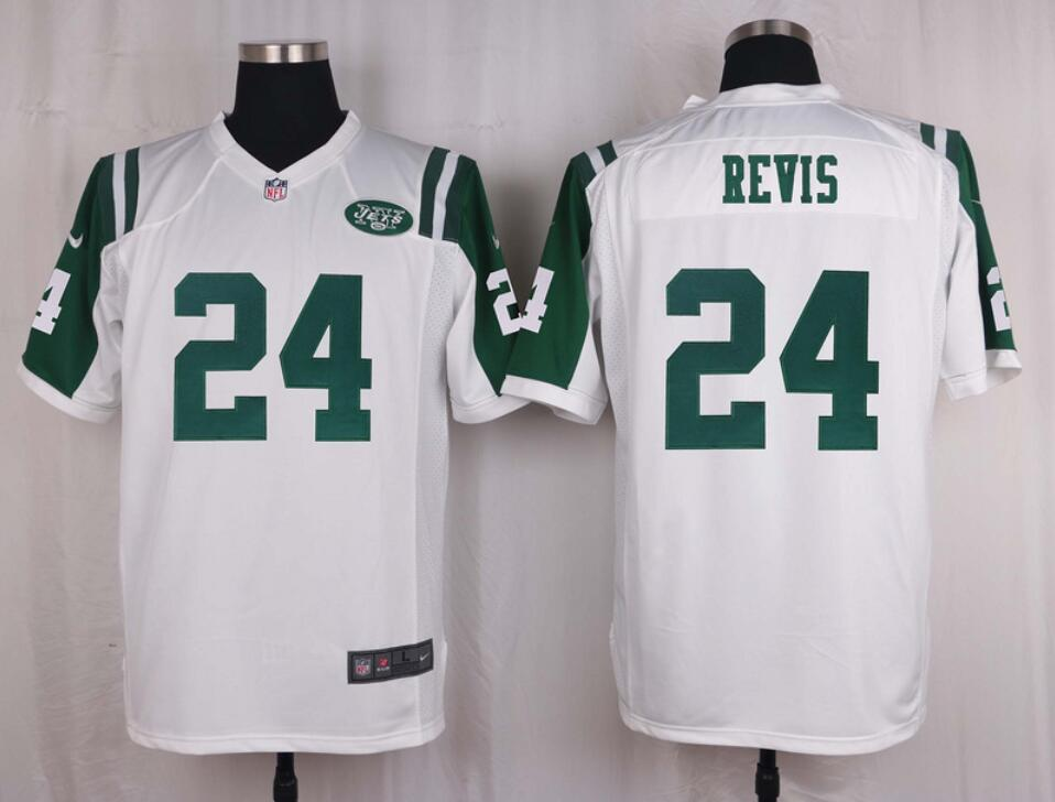 Camiseta del REVIS Blanca, New York Jets