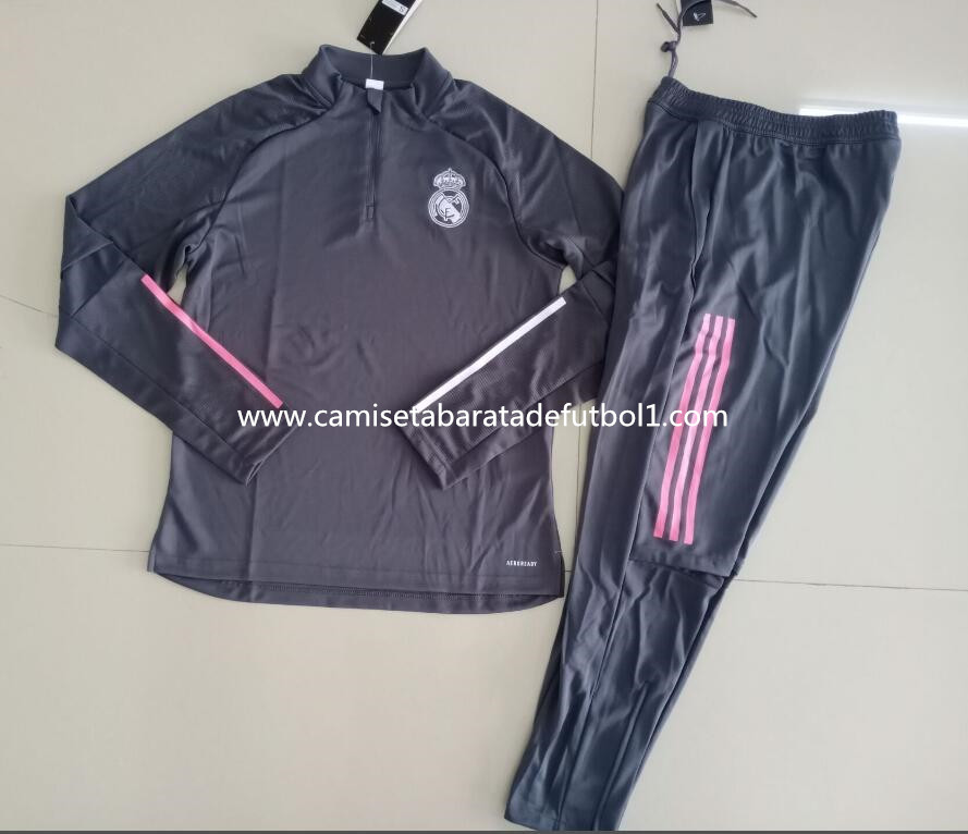 Chandal del Real Madrid Negro 2021