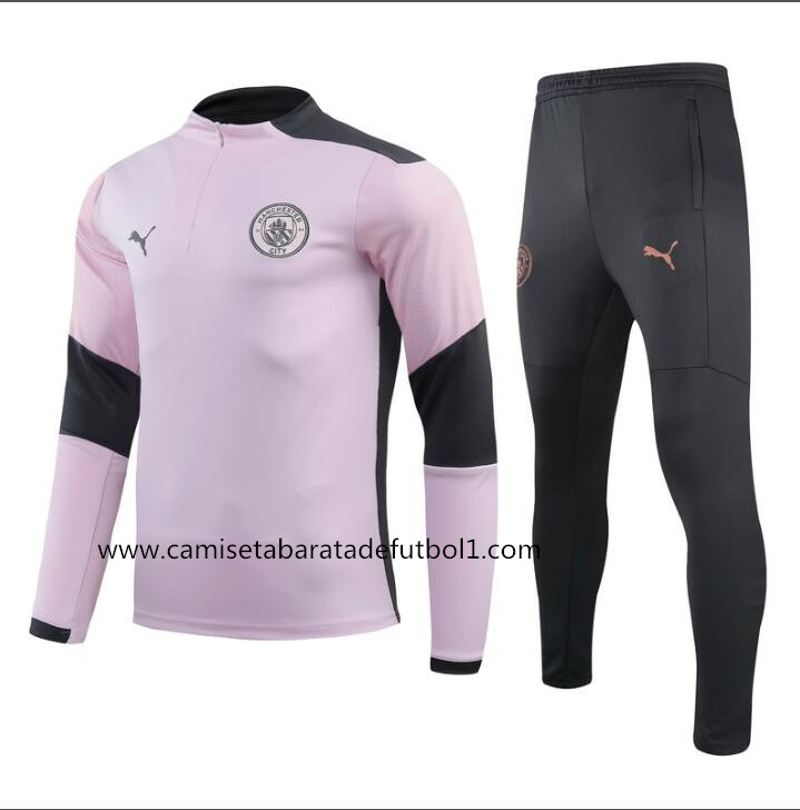 Chandal del Manchester City Rosa 2021
