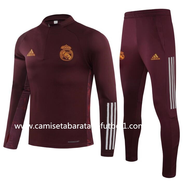 Chandal del Real Madrid Rojo 2021
